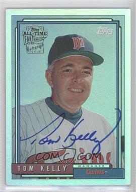 2005 Topps All-Time Fan Favorites - Autographs - Rainbow #FFA-TK - Tom Kelly /10