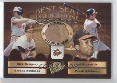 2005 Topps All-Time Fan Favorites [???] #BS-RRRD - Rick Dempsey