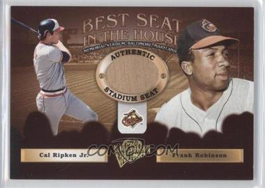 2005 Topps All-Time Fan Favorites Best Seat in the House #BS-RRRD - Rick Dempsey, Brooks Robinson, Cal Ripken Jr., Frank Robinson