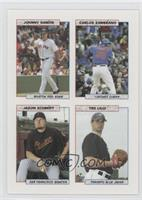 Johnny Damon, Carlos Zambrano, Jason Schmidt, Ted Lilly