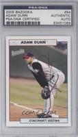 Adam Dunn [PSA/DNACertifiedAuto]