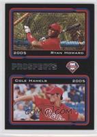 Ryan Howard, Cole Hamels /54