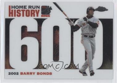 2005 Topps Chrome Update & Highlights - Barry Bonds Home Run History #BBC600 - Barry Bonds