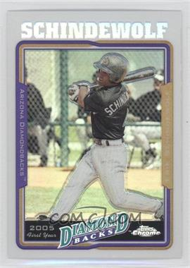 2005 Topps Chrome Update & Highlights - [Base] - Refractor #UH156 - Erik Schindewolf