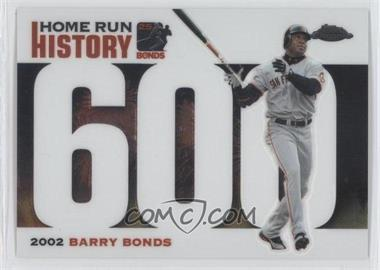 2005 Topps Chrome Update & Highlights Barry Bonds Home Run History #BB600 - Barry Bonds