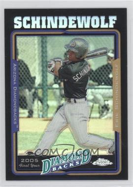 2005 Topps Chrome Update & Highlights Black Refractor #UH156 - Erik Schindewolf /250