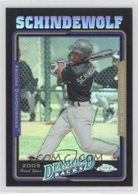 2005 Topps Chrome Update & Highlights Black Refractor #UH156 - Erik Schindewolf
