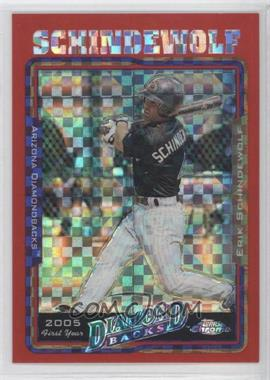 2005 Topps Chrome Update & Highlights Red X-Fractor #UH156 - Erik Schindewolf /65