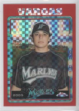 2005 Topps Chrome Update & Highlights Red X-Fractor #UH27 - Jason Vargas /65