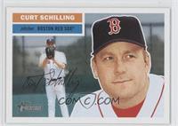 Curt Schilling (Face Behind Glove in Background)