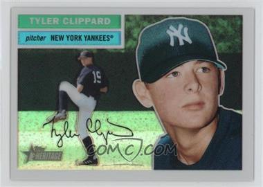 2005 Topps Heritage - Chrome - Refractor #THC68 - Tyler Clippard /556