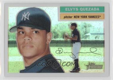 2005 Topps Heritage - Chrome - Refractor #THC85 - Elvys Quezada /556