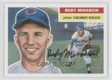 2005 Topps Heritage - Real One Autographs #RO-RM - Rudy Minarcin