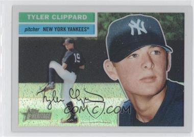 2005 Topps Heritage Chrome Refractor #THC68 - Tyler Clippard /556