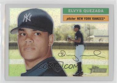 2005 Topps Heritage Chrome Refractor #THC85 - Elvys Quezada /556