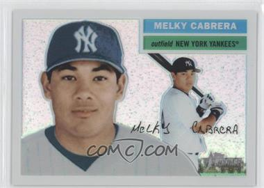 2005 Topps Heritage Chrome Refractor #THC95 - Melky Cabrera /556