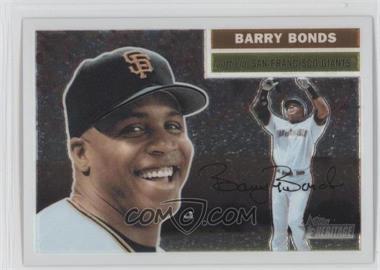 2005 Topps Heritage Chrome #THC5 - Barry Bonds /1956
