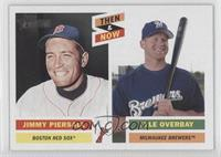 Jim Piersall, Lyle Overbay