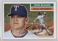 Hank Blalock (Batting in Background)