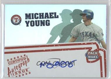 2005 Topps Pack Wars - Autographs #PWA-MY - Michael Young