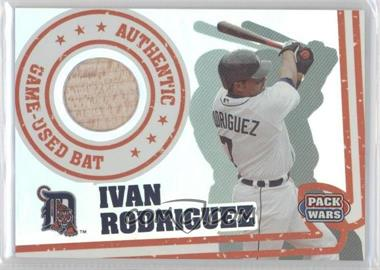 2005 Topps Pack Wars - Relics #PWR-IR - Ivan Rodriguez