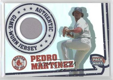 2005 Topps Pack Wars - Relics #PWR-PM - Pedro Martinez