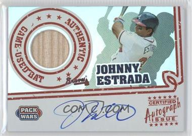 2005 Topps Pack Wars Autograph Relics #PWRA-JE - Johnny Estrada /200