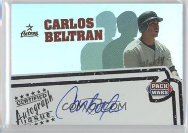 2005 Topps Pack Wars Autographs #PWA-CB - Carlos Beltran
