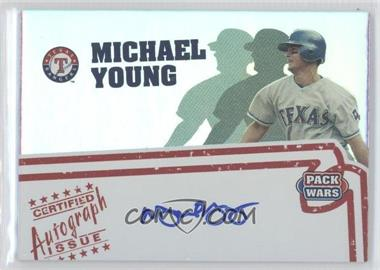 2005 Topps Pack Wars Autographs #PWA-MY - Michael Young