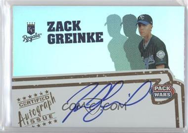 2005 Topps Pack Wars Autographs #PWA-ZG - Zack Greinke