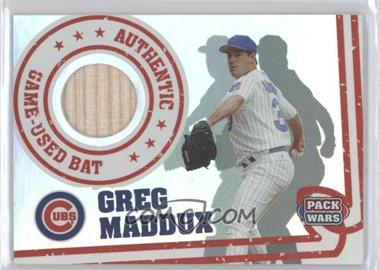 2005 Topps Pack Wars Relics #PWR-GM - Greg Maddux