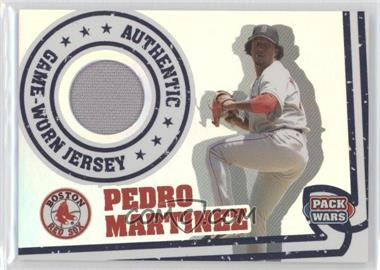 2005 Topps Pack Wars Relics #PWR-PM - Pedro Martinez