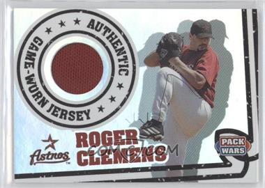 2005 Topps Pack Wars Relics #PWR-RC - Roger Clemens
