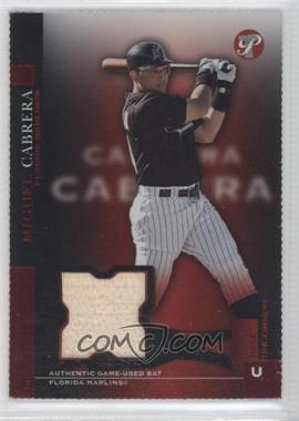 2005 Topps Pristine - [Base] - Die-Cut #177 - Base Uncommon - Miguel Cabrera /3