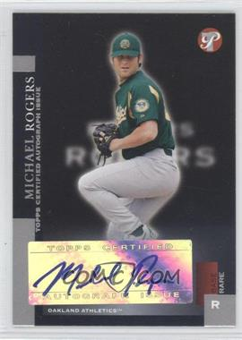 2005 Topps Pristine [???] #192 - Mike Rouse /100