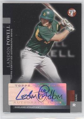 2005 Topps Pristine [???] #203 - Landon Powell /100
