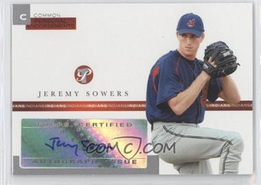 2005 Topps Pristine [???] #PEC-JS - Jeremy Sowers /497