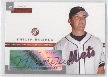 2005 Topps Pristine [???] #PEC-PH - Philip Humber /497