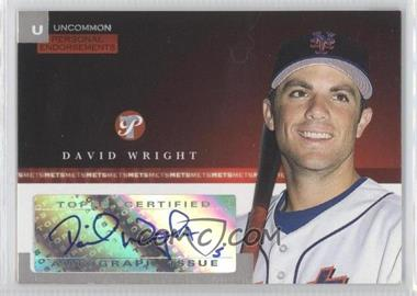 2005 Topps Pristine [???] #PEU-DW - David Wright /247