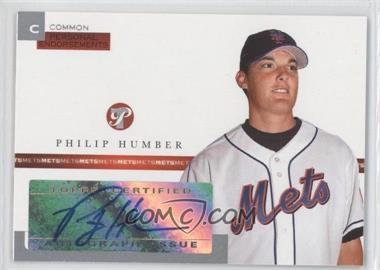 2005 Topps Pristine Personal Endorsements Common #PEC-PH - Philip Humber /497