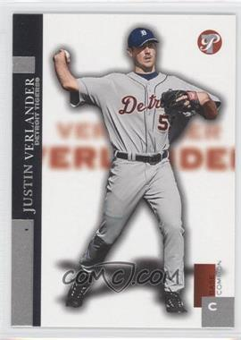 2005 Topps Pristine #101 - Base Common - Justin Verlander