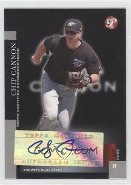 2005 Topps Pristine #181 - Chip Cannon /100