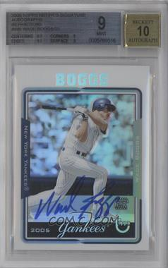 2005 Topps Retired Signature Edition Autographs Refractors #TA-WB - Wade Boggs /25 [BGS 9]