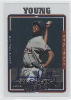 2005 Topps Retired Signature Edition Autographs #TA-AY - Anthony Young