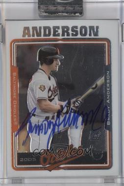2005 Topps Retired Signature Edition Autographs #TA-BA - Brady Anderson