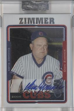 2005 Topps Retired Signature Edition Autographs #TA-DZ - Don Zimmer