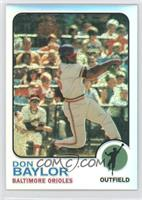 Don Baylor /15
