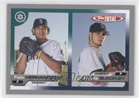 Felix Hernandez, Travis Blackley