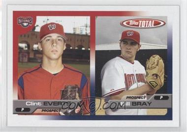2005 Topps Total #692 - Bill Bray, Clint Everts
