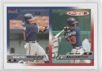 Martin Prado, Billy McMillon, Billy McCarthy
